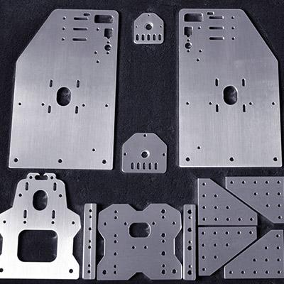 aluminum cutting by cnc router machine