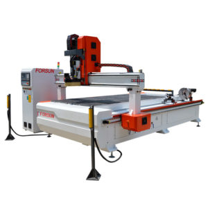 New ATC CNC Router with Aggregate and the 4th Rotary Axis