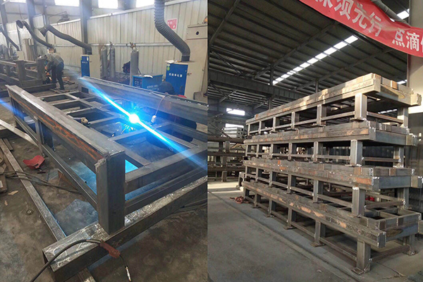 rigid cnc wood router tube frame