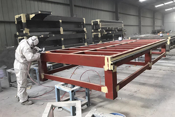 painting for cnc router frame