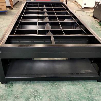 Bed Structure of CNC Metal Fiber Laser Cutting Machine