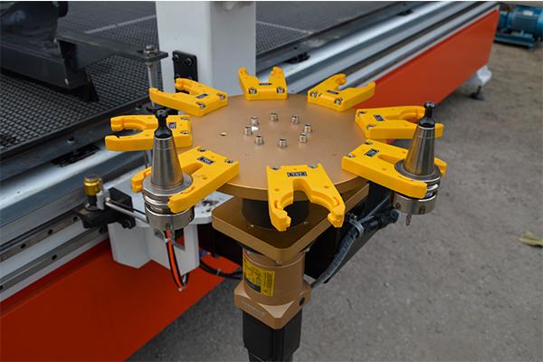 Carousel Auto Tool Magazine of CNC wood router machine