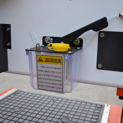 auto lubrication system of mini CNC router