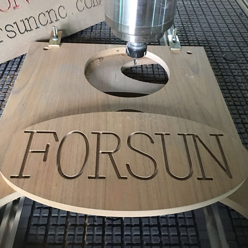 sign making by 3D wood router