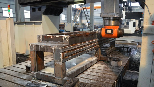 CNC Milling Machine Body