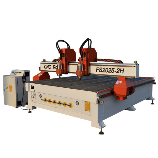CNC Router with 2 Separate Spindles