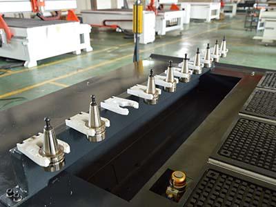 Linear ATC of best cheap smart CNC wood router machine