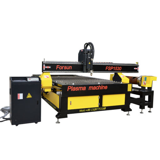 CNC Plasma Cutting Machine with Rotary Axis
