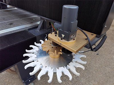Carousel ATC of cheap best CNC wood router machine