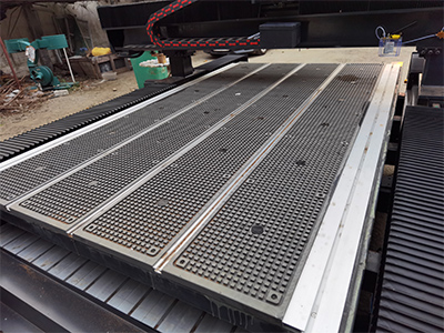 T-slot+Vacuum Table of cnc wood router machine