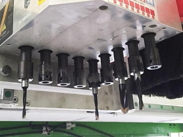 Vertical Drilling Block