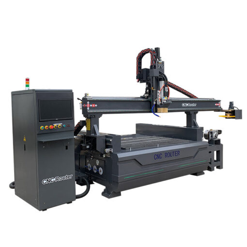 best cheap 1325 Automatic Tool Changer CNC Router with Rotary Axis for sale in China
