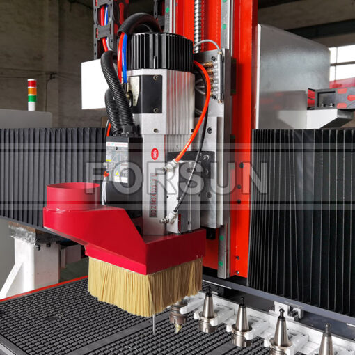 9KW HSD ATC spindle of smart CNC wood router machine
