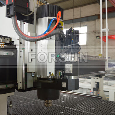 CNC wood router machine ATC Spindle C-axis Aggregate