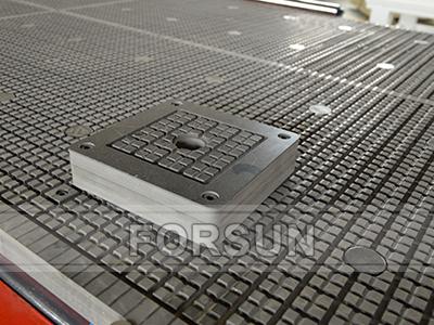 Adsorption block of CNC wood router machine