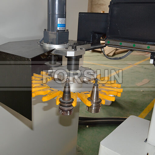 Carousel Auto Tool Changer of smart cnc router machine