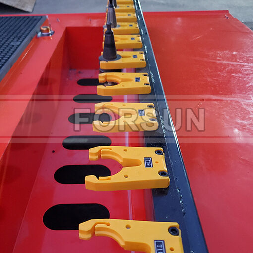 Linear ATC of smart CNC wood router machine