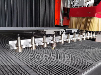 Liner ATC of CNC wood router machine