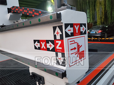 PMI linear guide of CNC woodworking router machine