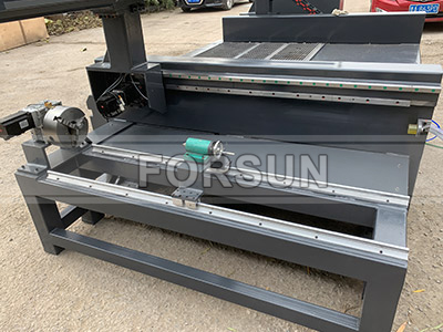 Rotary Axis of CNC wood router machine