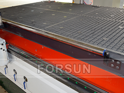 T-Slot vacuum table of Double Work Table ATC CNC Router with C Axis and Aggregate