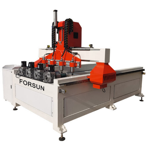 2021 best cheap 4 Axis Wood Carving Rotary Multi Spindle 3D CNC Router in China