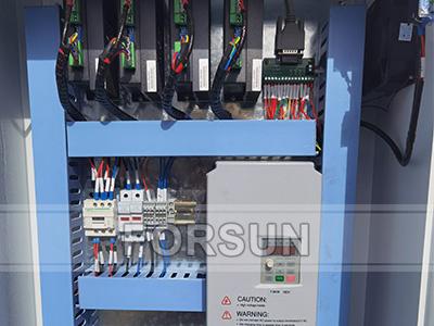 Control box of CNC router machine