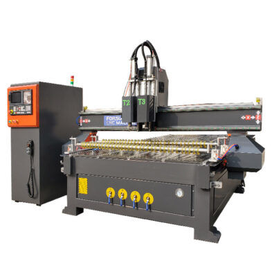 Multi-Tool Oscillating Angle Knife CNC Router Machine