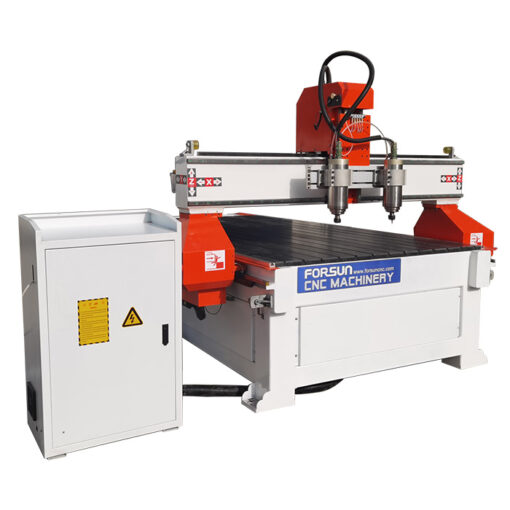 best cheap Synchronous Multi-spindle CNC wood cavring Router working video in China