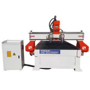 Synchronous Double-spindle CNC Wood Router