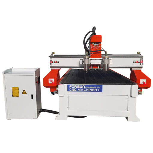 best cheap Synchronous Multi-spindle CNC wood Router working video in China