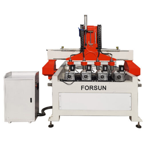 China best cheap multi-spindle 3d 4-axis rotary CNC wood router machine for sale 2021