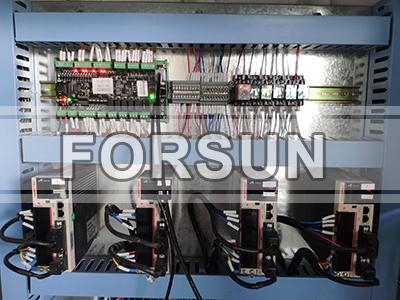 YAKO Servo drivers of CNC Wood Router Machine with CCD Camera