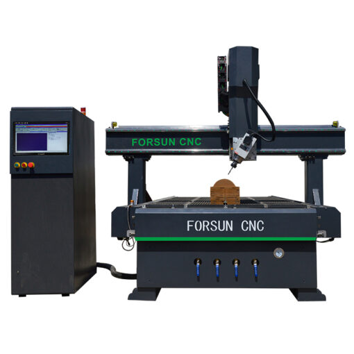 4-axis cnc wood router machine