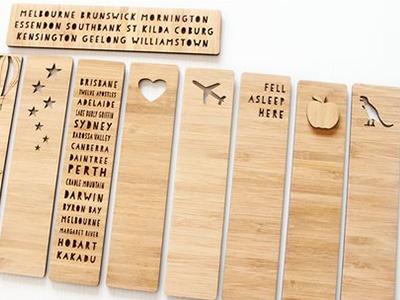 Bamboo Bookmarks