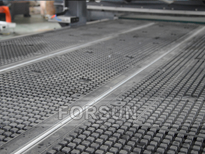 Vacuum Table of nesting cnc router machine