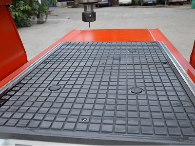 vacuum table for wood router