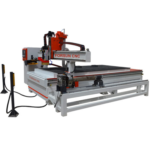 ATC CNC Router Machine with Wood Duo Aggregate