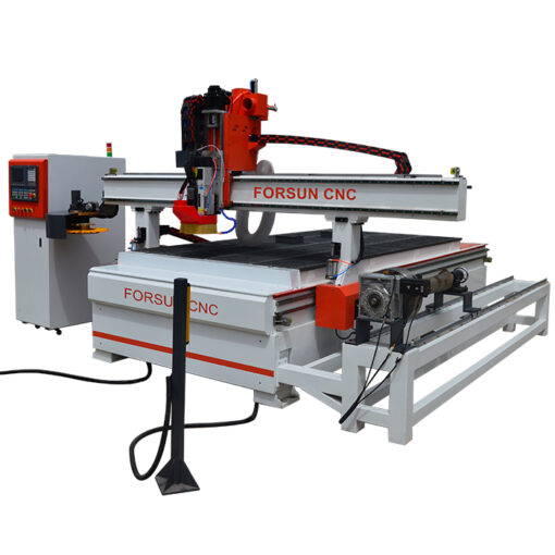 ATC CNC Wood Router Machine with Auto Pusher