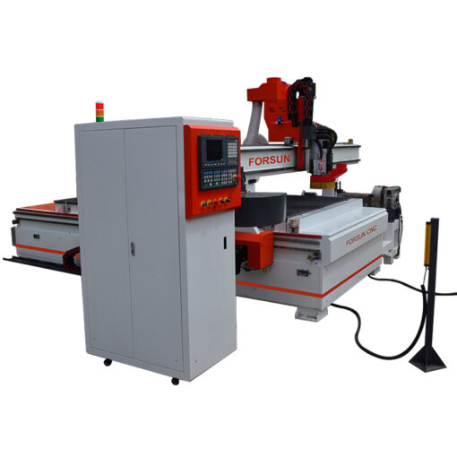 ATC CNC Wood Router with 4th rotary axis