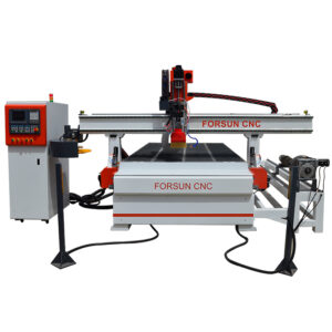 ATC CNC Wood Router Machine With Wood Duo Aggregate