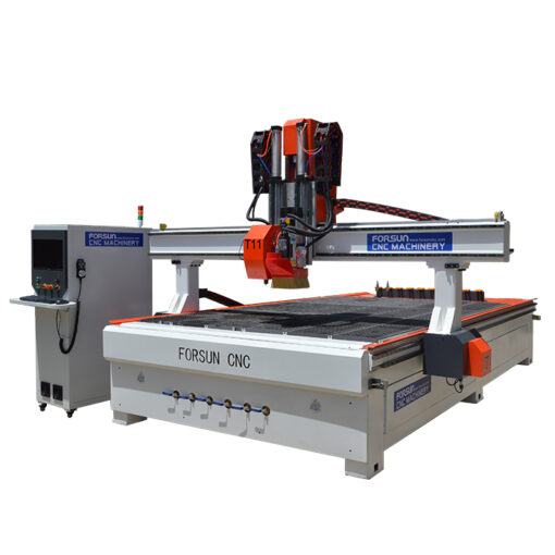 CNC Oscillating Knife cutter with ATC CNC Router