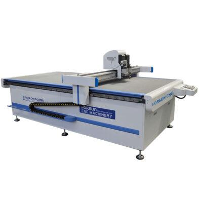CNC Oscillating knife Creasing Wheel Cutting Machine