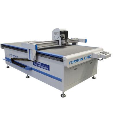CNC Oscillating knife Creasing Wheel Cutting Machine for fabric