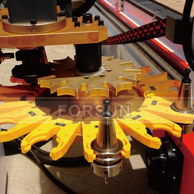 CNC Router Carousel Tool Magzine