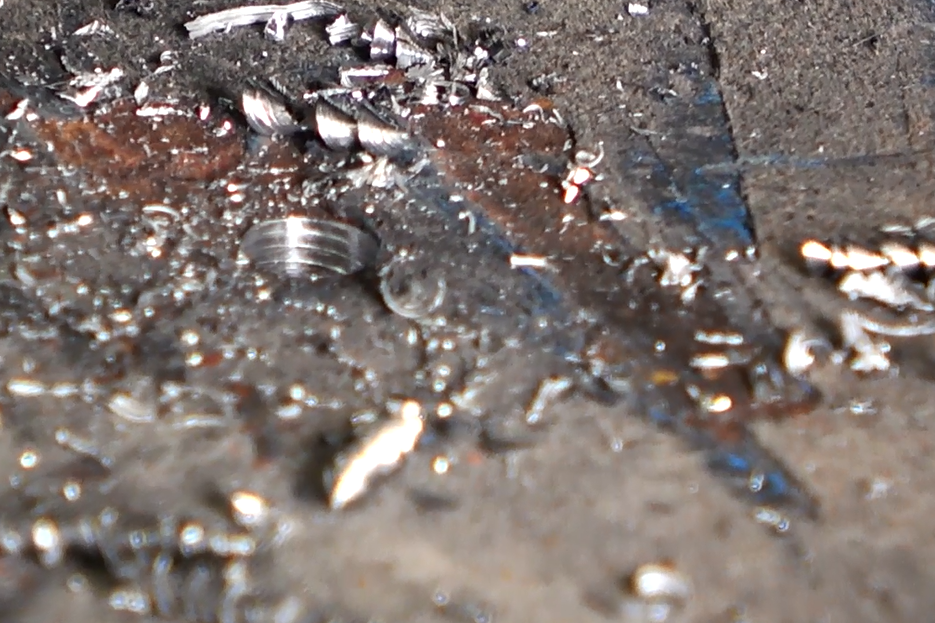CNC plasma drilling cutting machine sample