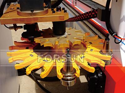 Carousel Tool Magzine of ATC CNC wood router