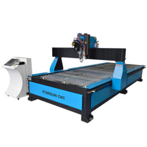 CNC Plasma Drilling & Cutting Machine with Flame Torch