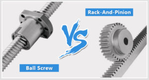 What's Better, Rack-And-Pinion Or Ball Screw