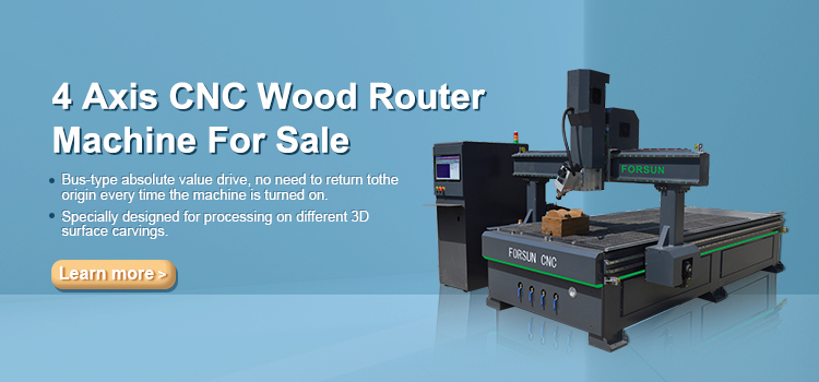 4 Axis CNC Wood Router Machine For Sale-FORSUN CNC